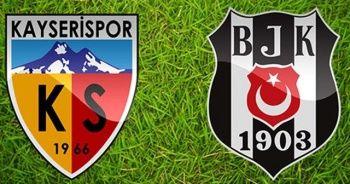 Kayserispor Beşiktaş maçı golleri özeti izle | Kayserispor Beşiktaş kaç kaç bitti?