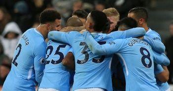 Manchester City'nin üst üste 18. galibiyeti