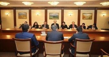 Mirziyoyev TİKA Başkanı Çam'ı kabul etti