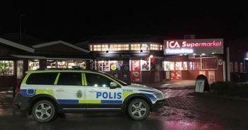 Stockholm'de Süpermarket Soygunu