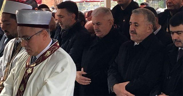 Başbakan Yıldırım dayısının oğlunu son yolculuğuna uğurladı