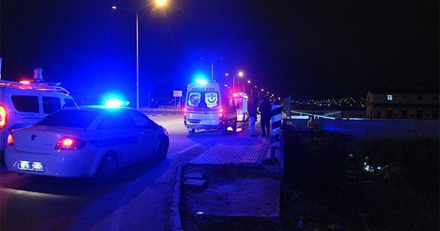 Bursa'da atık su kanalına uçan sürücü öldü