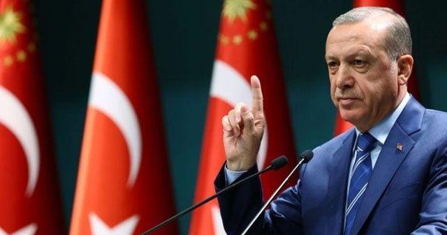Cumhurbaşkanı Erdoğan: Teslim olmazlarsa orayı da başlarına yıkacağız