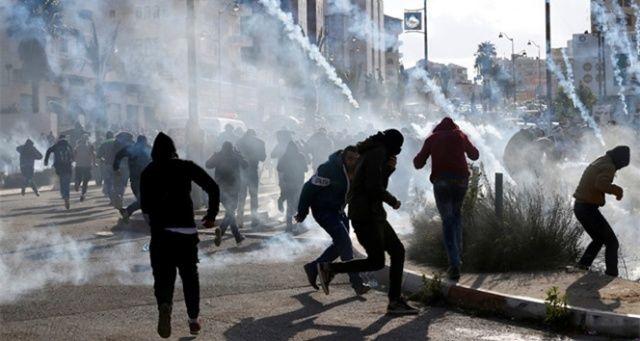 İsrail'in Filistindeki gösterilere müdahalesi