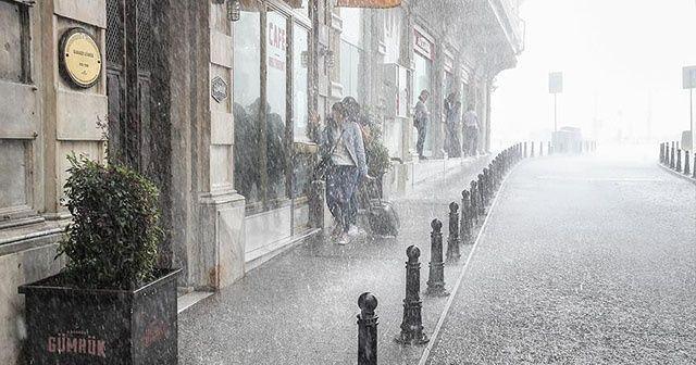 İstanbul'da sağanak uyarısı  Yurt genelinde hava durumu (13 Ocak)