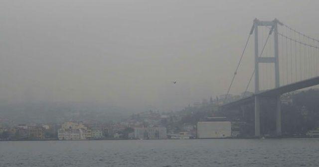 İstanbul genelinde sis etkili oluyor