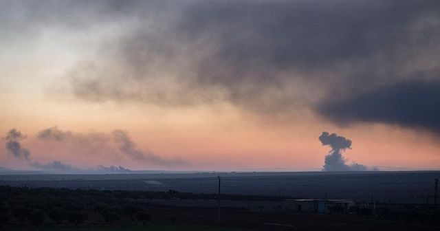 PYD/PKK'lıların ateşlediği uçaksavar mermileri Kilis'te evlere isabet etti