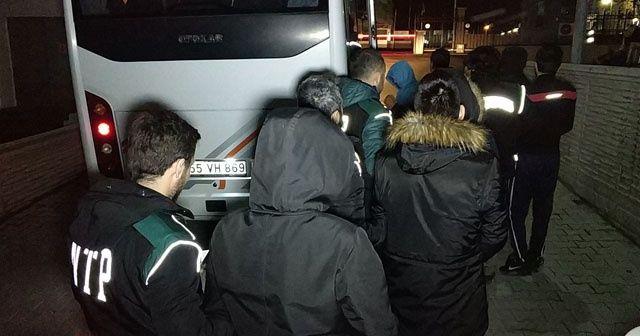 Samsun'da uyuşturucudan 11 kişi tutuklandı
