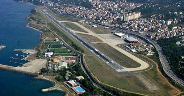 Trabzon Havalimanı'na 2. pist projesi ve pistin 3 km'ye çıkarılması