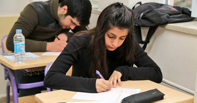 Tunceli'de öğrencilere deneme sınavı