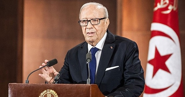 Tunus Cumhurbaşkanı Sibsi, BM'li yetkililerle görüştü