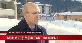 Mehmet Şimşek TGRT Haber'de Davos Zirvesi'ni değerlendirdi