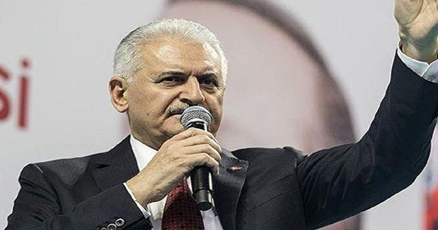 Başbakan'dan Kılıçdaroğlu'na: PKK'lılarla kol kola girmekle olmaz