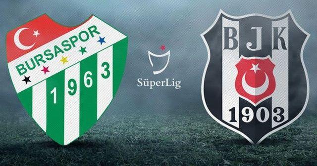 Özet izle! Bursaspor 2- 2 Beşiktaş Maçı Özet ve Golleri İZLE! Bursaspor BJK maçı kaç kaç Bitti?