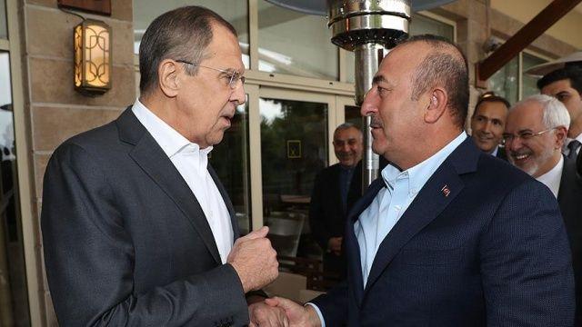 Dışişleri Bakanı Çavuşoğlu, Lavrov'a taziyelerini iletti