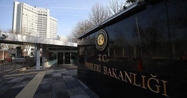 Dışişleri'nden AP'nin 'Türkiye' kararına tepki
