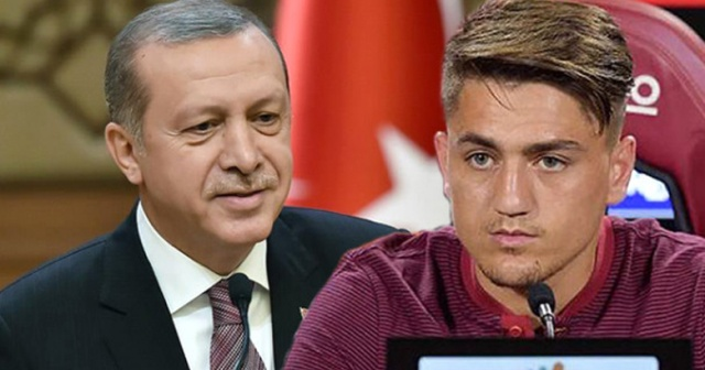 Erdoğan Roma'dayken Cengiz gol atınca Romalılar coştu