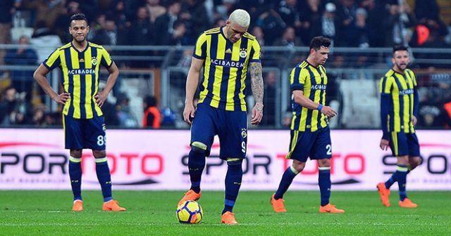 Fenerbahçe'nin yenilmezlik serisi bozuldu