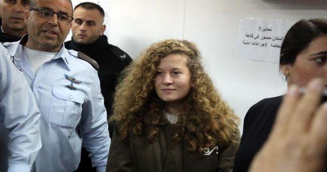 Filistinli cesur kız Ahed'in duruşması 11 Mart'a ertelendi