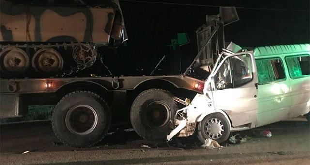 Hatay'daki trafik kazasında 4 ölü, 10 yaralı