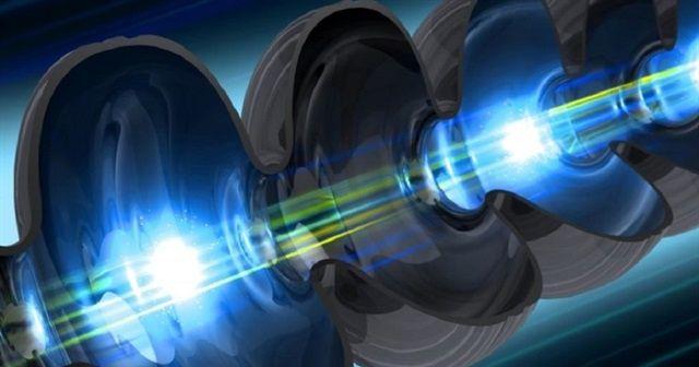 Işık elektron parçacıklarını yavaşlatıyor