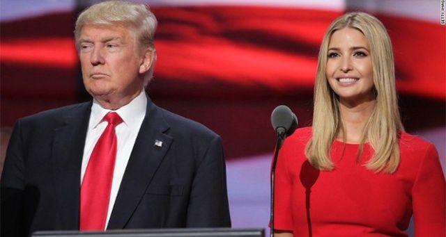 Ivanka Trump, babasını savundu