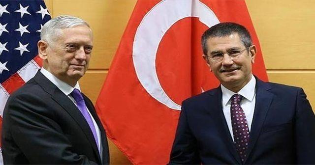 Milli Savunma Bakanı ABD'li mevkidaşıyla görüştü
