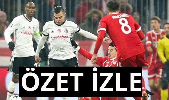 ÖZET İZLE: Bayern Münih 5-0 Beşiktaş Maçı Full Özeti Golleri izle | Bayern Münih Beşiktaş maçı kaç kaç bitti?