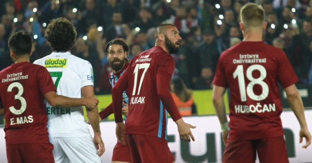 Trabzonspor başa sardı