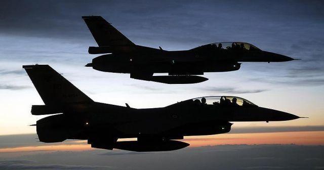 TSK: Kuzey Irak'a hava harekatında 16 hedef imha edildi