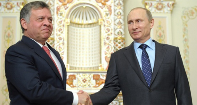 Ürdün Kralı 2. Abdullah ile Putin bir araya gelecek