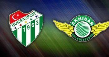 Akhisarspor Bursaspor maçı ÖZET izle   Akhisarspor Bursaspor maç sonucu kaç kaç
