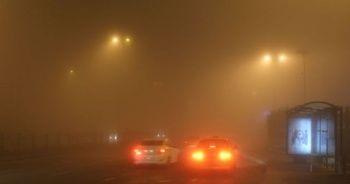 Ardahan'ı sis kapladı