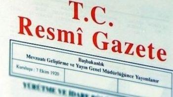 Bakanlar Kurulu kararı Resmî Gazete'de