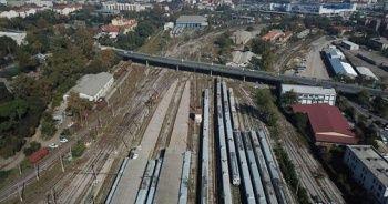 Banliyö hatlarında yeni peronlar ortaya çıkmaya başladı
