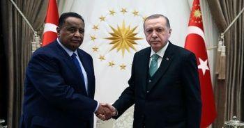 Erdoğan, Sudan Dışişleri Bakanı Gandur'u kabul etti