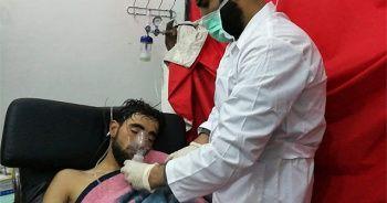 Esed rejimi İdlib'e klor gazıyla saldırdı