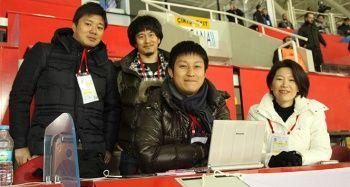 Japon gazeteciler Nagatomo'yu takip etti