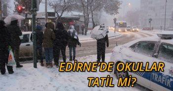 Son dakika! 27 Şubat Okulların Tatil olduğu iller? Edirne ve Kırklareli'de Okullar Tatil Mi?