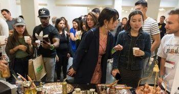 Türk kahvesi Los Angeles'ta fuara damga vurdu