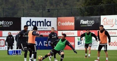 Beşiktaş, Kardemir Karabükspor maçı hazırlıklarını tamamladı