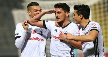 Beşiktaş Ziraat Türkiye Kupası'nda yarı finalde
