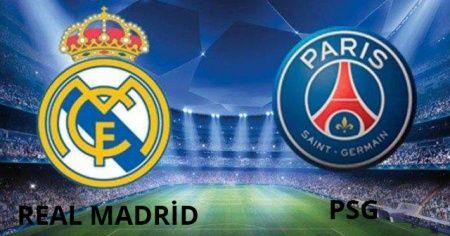 Real Madrid - Paris Saint Germain (PSG) maçı Az TV (İdman tv) Canlı izle