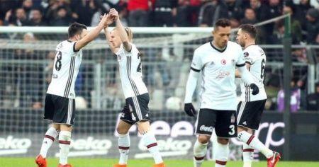 Vodafone Park'ta derbiyi Beşiktaş kazandı