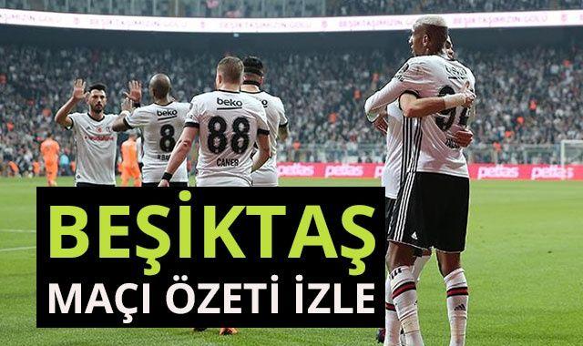 Beşiktaş 1-0 Alanyaspor Maçı Özeti golleri izle! Beşiktaş Alanyaspor Maçı kaç kaç bitti?