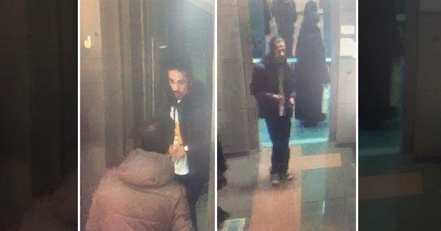Çarşaflı kadına metroda çirkin saldırı