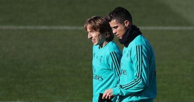 Real Madrid'de Luka Modric depremi!