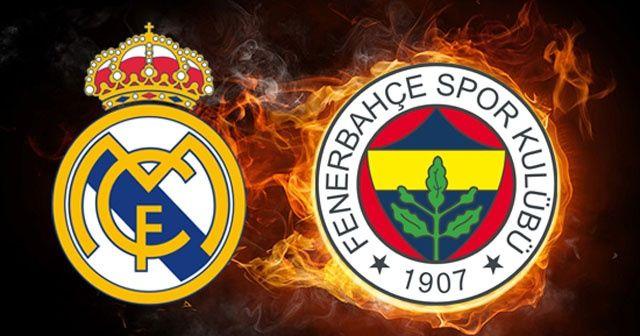 Real Madrid - Fenerbahçe Doğuş maçı Canlı izle   Real Madrid - Fenerbahçe Doğuş ne zaman saat kaçta?