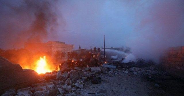 Rus uçağı Suriye'de düştü: Çok sayıda ölü var