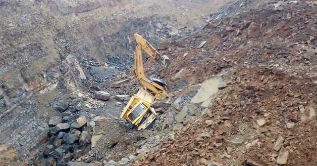 Samsun'da taş ocağında göçük: 1 işçi enkaz altında kaldı